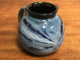 Neptune Mug with a Blue Nebula Interior, roughly 16-18oz size, (SK3096)