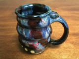 Cosmic Mug, roughly 16 oz size, Inspired by a Planetary Nebula (SK3204)