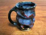 Cosmic Mug, roughly 12-14oz size, Inspired by a Planetary Nebula (SK3493)