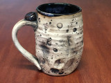 "Lunar/Moon Mug, roughly 11-13 ounces, Inspired by 'Planetary Nebula""  (SK3930)"