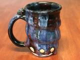 Spiral Cosmic Mug, roughly 14-16oz size, Inspired by a Planetary Nebula (SK3937)