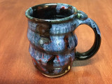 Spiral Cosmic Mug, roughly 14-16oz size, Inspired by a Planetary Nebula (SK3995)