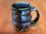 Spiral Cosmic Mug, roughly 14-16oz size, Inspired by a Planetary Nebula (SK3997)