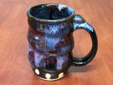 Spiral Cosmic Mug, roughly 14-16oz size, Inspired by a Planetary Nebula (SK4232)
