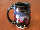 PATRONS ONLY: Cosmic Mug, roughly 14-16oz size, Inspired by a Planetary Nebula (SK4405)
