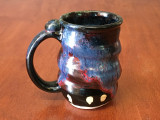 PATRONS ONLY: Cosmic Mug, roughly 14-16oz size, Inspired by a Planetary Nebula (SK4409)