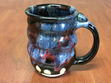 Spiral Cosmic Mug, roughly 12-14oz size, Inspired by a Planetary Nebula (SK4577)