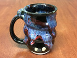 Spiral Cosmic Mug, roughly 12-14oz size, Inspired by a Planetary Nebula (SK4586)