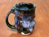Spiral Cosmic Mug, roughly 12-14oz size, Inspired by a Planetary Nebula (SK4587)