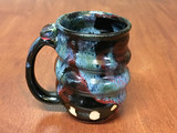 Spiral Cosmic Mug, roughly 12-14oz size, Inspired by a Star-Formation Nebula (SK4590)