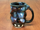 Spiral Cosmic Mug, roughly 12-14oz size, Inspired by a Star-Formation Nebula (SK4592)