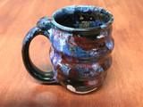Spiral Cosmic Mug, roughly 10-12oz size, Inspired by a Planetary Nebula (SK4873)