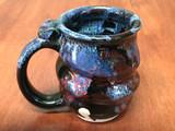Spiral Cosmic Mug, roughly 10-12oz size, Inspired by a Planetary Nebula (SK4883)