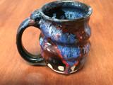 Spiral Cosmic Mug, roughly 12-14oz size, Inspired by a Planetary Nebula (SK4887)