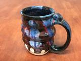 Spiral Cosmic Mug, roughly 12-14oz size, Inspired by a Planetary Nebula (SK4910)