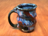 Spiral Cosmic Mug, roughly 12-14oz size, Inspired by a Planetary Nebula (SK4913)