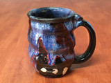 PATRONS ONLY: Cosmic Mug, roughly 10-12oz size, Inspired by a Planetary Nebula (SK4942)