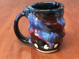 PATRONS ONLY: Cosmic Mug, roughly 10-12oz size, Inspired by a Planetary Nebula (SK4950)
