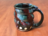 PATRONS ONLY: Cosmic Mug, roughly 10-12oz size, Inspired by a Star-Formation Nebula (SK4975)