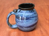 PATRONS ONLY: Neptune Mug with a Blue Nebula Interior, roughly 18-20oz size, (SK5414)