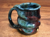 Cosmic Mug, roughly 15 ounce size, Inspired by a Star-Formation Nebula (SP294)
