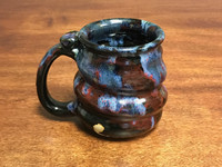 Short and Squat Cosmic Mug, roughly 12-14oz size, Inspired by a Planetary Nebula (SK956)