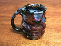 Discounted: $20 OFF Cosmic Mug, roughly 12-14oz size, Inspired by a Planetary Nebula (SK968)