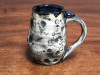"Lunar/Moon Mug, roughly 11-13 ounces, Inspired by 'Planetary Nebula""  (SK1346)"