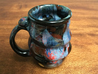 Cosmic Mug, roughly 16-18oz size, Inspired by a Planetary Nebula (SK1376)