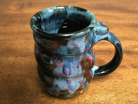 Cosmic Mug, roughly 16-18oz size, Inspired by a Planetary Nebula (SK1378)