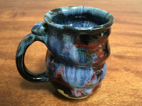 Cosmic Mug, roughly 16-18oz size, Inspired by a Planetary Nebula (SK1861)