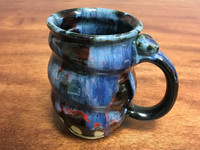 Cosmic Mug, roughly 16-18oz size, Inspired by a Planetary Nebula (SK1861)