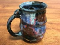 Cosmic Mug, roughly 16-18oz size, Inspired by a Planetary Nebula (SK1981)