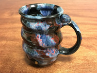 Cosmic Mug, roughly 16-18oz size, Inspired by a Planetary Nebula (SK1992)