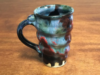 Cosmic Mug, roughly 14-16oz size, Inspired by a Star-Formation Nebula (SK2212)