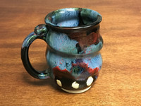 Small Cosmic Mug, roughly 12 oz size, Inspired by a Star-Formation Nebula (SK2262)