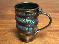 One Factory Made Cosmic Mug, Designed by Joel Cherrico,  roughly 15-16oz. size, Made in Shenzhen, China