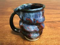 Imperfect/Flawed Cosmic Mug, roughly 12-14oz size, Inspired by a Planetary Nebula (SK3102)