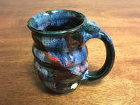 Cosmic Mug, roughly 10-12oz size, Inspired by a Planetary Nebula (SK3200)