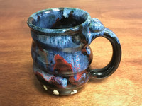 Cosmic Mug, roughly 16 oz size, Inspired by a Planetary Nebula (SK3201)