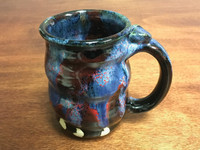 Cosmic Mug, roughly 14-16oz size, Inspired by a Planetary Nebula (SK3202)