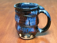 Discounted Cosmic Mug, roughly 14-16 oz size, Inspired by a Planetary Nebula (SK3873)