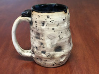 "Lunar/Moon Mug, roughly 11-13 ounces, Inspired by 'Planetary Nebula""  (SK3931)"