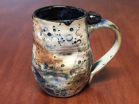 "Blue Lunar/Moon Mug, roughly 12-14 ounces, Inspired by 'Planetary Nebula""  (SK3932)"