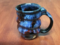 Spiral Cosmic Mug, roughly 14-16oz size, Inspired by a Planetary Nebula (SK3994)