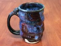 Spiral Cosmic Mug, roughly 14-16oz size, Inspired by a Planetary Nebula (SK4232)