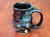 Spiral Cosmic Mug, roughly 14-16oz size, Inspired by a Star-Formation Nebula (SK4233)