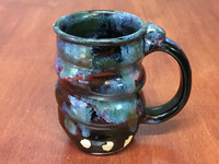 Spiral Cosmic Mug, roughly 14-16oz size, Inspired by a Star-Formation Nebula (SK4234)