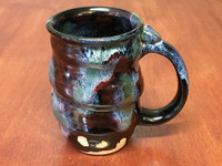 Spiral Cosmic Mug, roughly 14-16oz size, Inspired by a Star-Formation Nebula (SK4236)