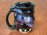 Spiral Cosmic Mug, roughly 12-14oz size, Inspired by a Planetary Nebula (SK4580)